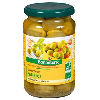 Bonneterre Olives vertes entieres 200g