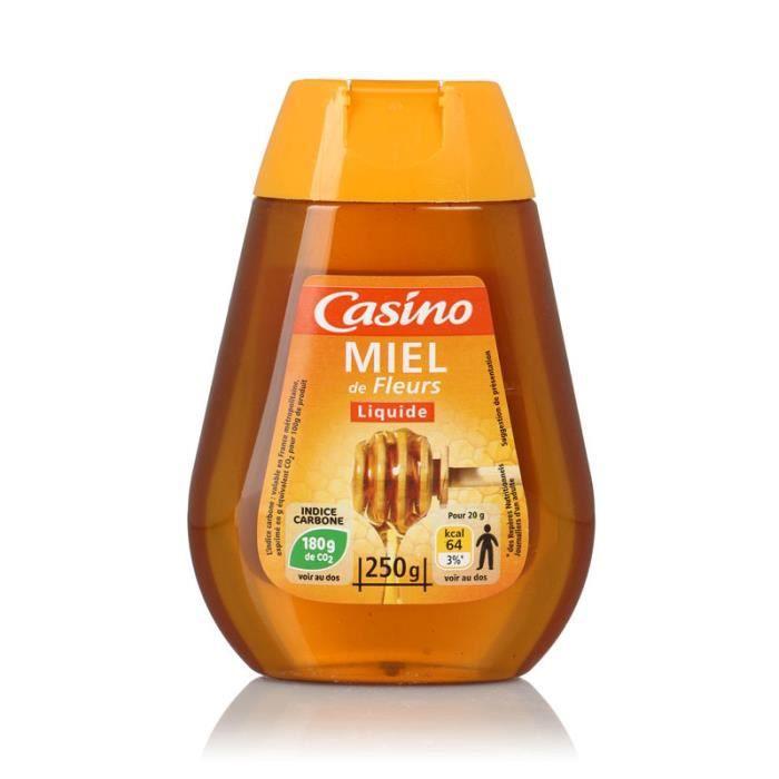 CASINO Miel de Fleurs Liquide - 250 g