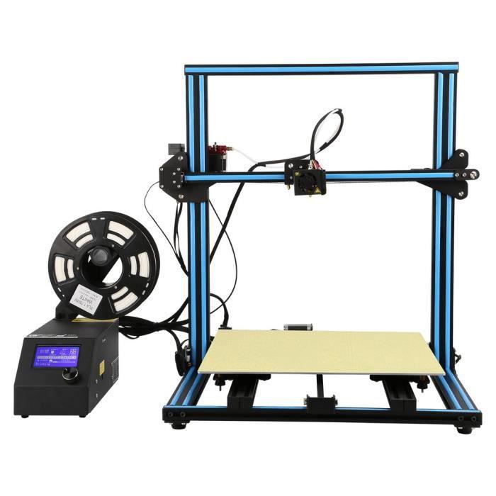 Creality3d Cr 10S5 imprimante 3D 500 x 500 x 500mm Diy Kit Version agrandie en Aluminum Uk plug