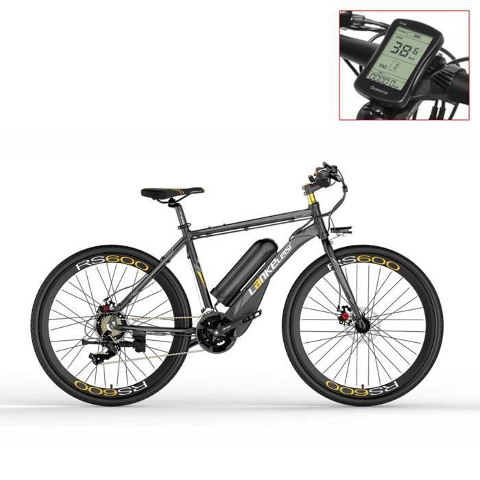 RS600-UP 700C Vélo électrique à assistance pédale, batterie 36V 20Ah, vélo de route à moteur 300W