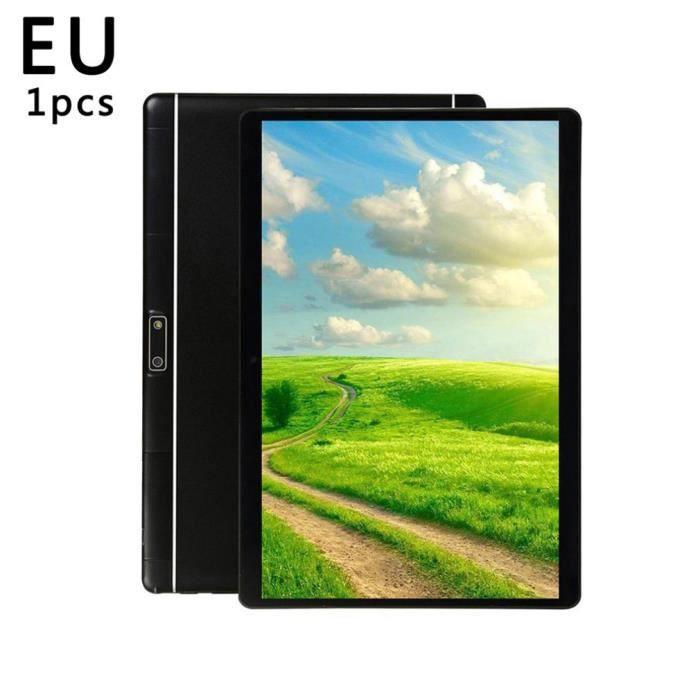 Tablette PC professionnelle 10 pouces 1 Go de RAM 16 Go de ROM pour Android 8.0 WiFi, noir