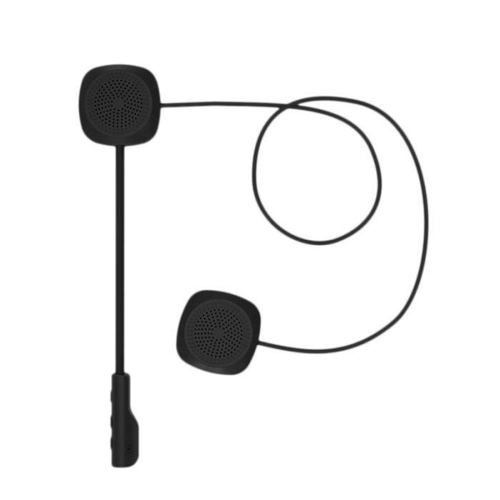 Stéréo de musique sans fil portatif 1Pc avec casque de de microphone pour la conduite de moto INTERCOM - KIT COMMUNICATION