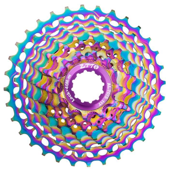 1Pc vélo 28 dents 11 vitesses coloré Super Light Transmission partie système DERAILLEUR - PIECES DETACHEES DE DERAILLEUR