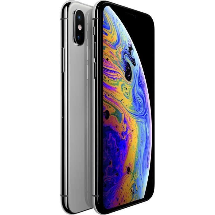 SMARTPHONE iPhone Xs 64 Go Argent Reconditionné - Très bon Et