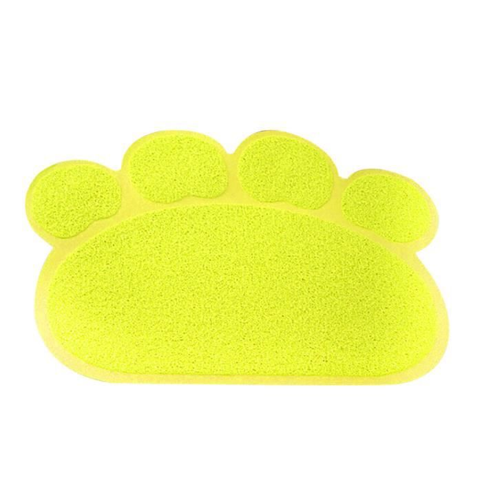 Patte Forme Animaux Pieds Mat Napperon Pvc Sleeping Dog Chats Rayonnants Tapis D'alimentation Cxx*2440