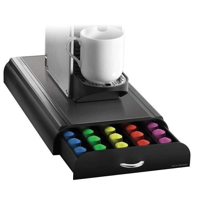 """MACHINE À CAFÉ Anchor"""" Café Pod tiroir de rangement verser 50 Cap"""