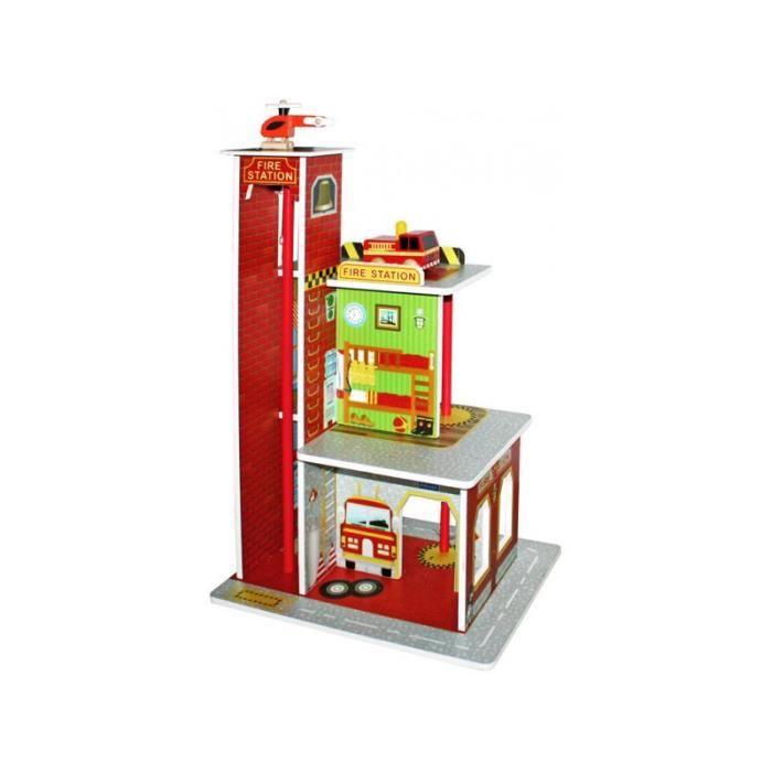 Caserne de pompiers 1//72 MiniArt