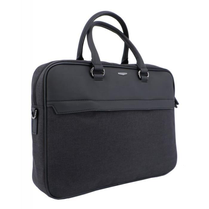 gris sac cartable sacoche bandouli/ère porte-documents 1805510 HALFAR
