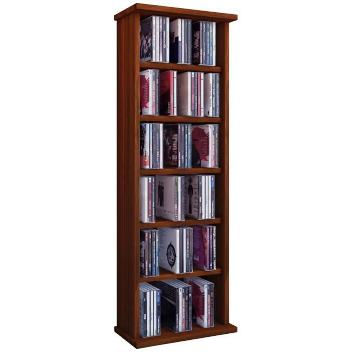 vostan tour rangement biblioth que cd dvd 150 cd blanc sans portes vitr s achat vente. Black Bedroom Furniture Sets. Home Design Ideas