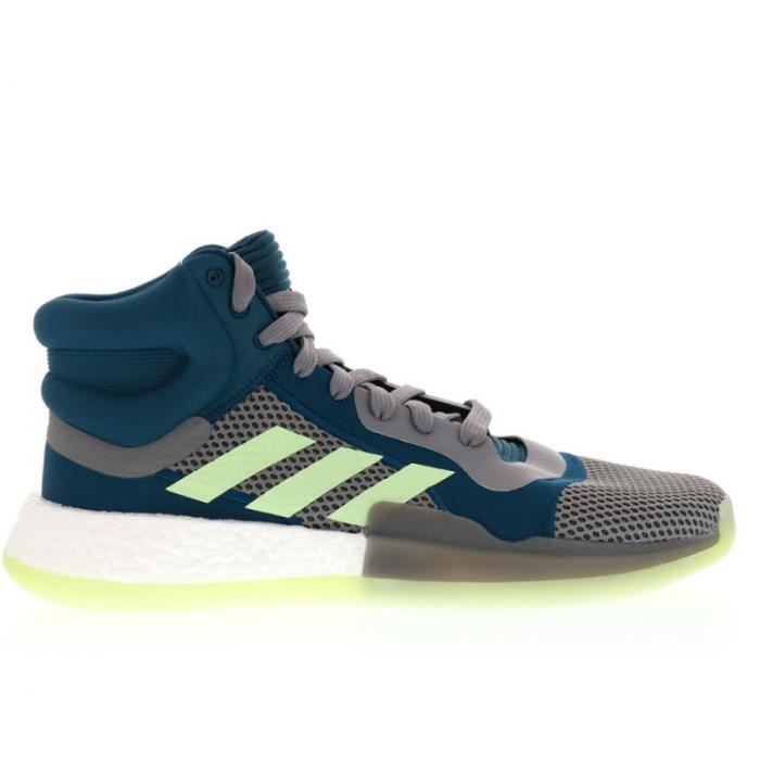 Chaussure de Basketball adidas Marquee Boost Bleu/