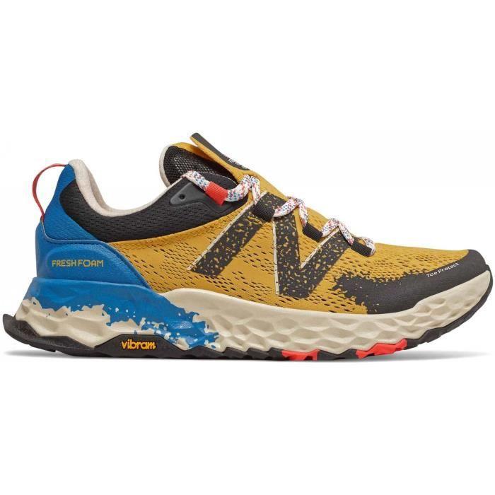 New Balance Hierro v5 Hommes Chaussures running jaune - Cdiscount ...
