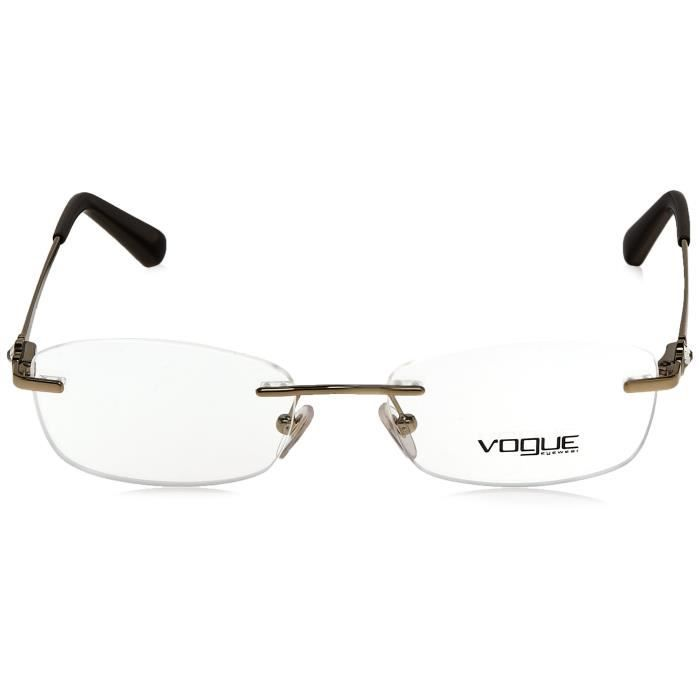 Vogue Standard Oval Eye Frame (0vo3956bi84851) (pale Gold) U7K6J