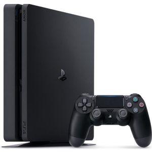 CONSOLE PS4 PS4 Slim - Noir - 500 Go
