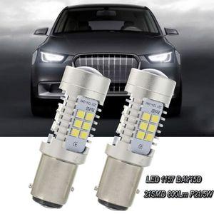 ALLUMAGE AUTO DES FEUX Nouveau 2x LED blanche 1157 BAY15D 21SMD 800lm P21