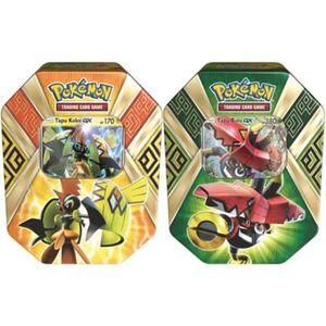 CARTE A COLLECTIONNER Pokébox pokémon Tapu Koko ou Tapu Bulu Gx summer 2