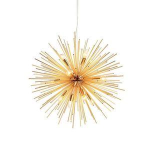 LUSTRE ET SUSPENSION Sputnik Lustre Or 12 Lumières Vintage Suspension p