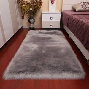 Tapis de chambre gris - Achat / Vente Tapis de chambre gris ...