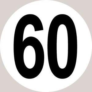 Disque Limitation De Vitesse 25 kmh Homologué CE TUV