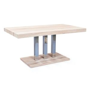 Table salle a manger avec pied central achat vente - Table avec pied central design ...