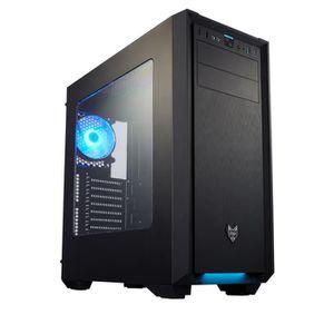BOITIER PC  Boitier PC ATX FSP CMT330, Noir