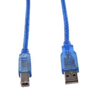 CÂBLE INFORMATIQUE Cable d'extension de l'imprimante USB A male vers