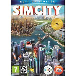 JEU PC PC SIM CITY  EDITION LIMITEE