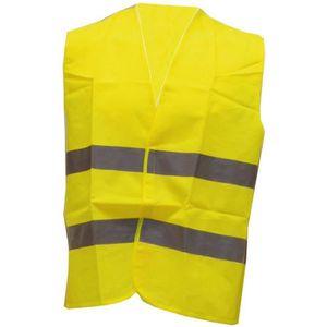Gilet de sécurité pour enfant jaune fluo EN ISO 20471 TOOLCRAFT TO-5150550 EN