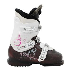 CHAUSSURES DE SKI Chaussure ski Salomon Junior T2 / T3 violet