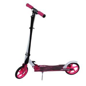 TROTTINETTE Trottinette rose pliable réglable durable 2 roues