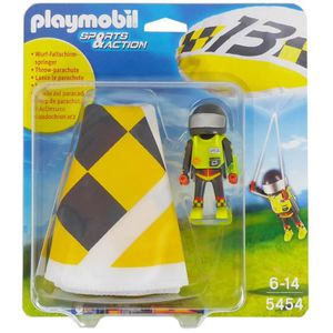 UNIVERS MINIATURE PLAYMOBIL 5454 Parachutiste Greg