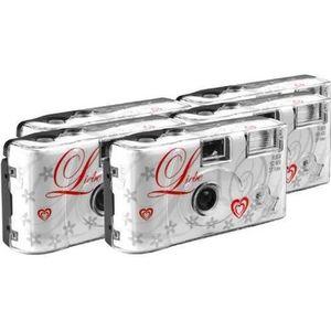 APPAREIL PHOTO JETABLE TopShot Lot de 5 appareils photo jetables pour 27