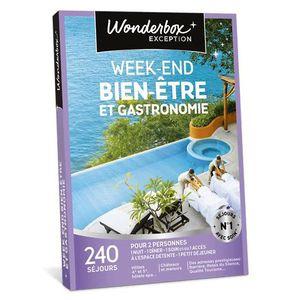 COFFRET SÉJOUR Wonderbox - Box cadeaux  - Week-end bien-être et g