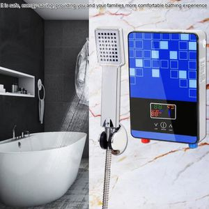 CHAUFFE-EAU Chauffe-eau électrique 220V 6500W Chauffe-eau inst