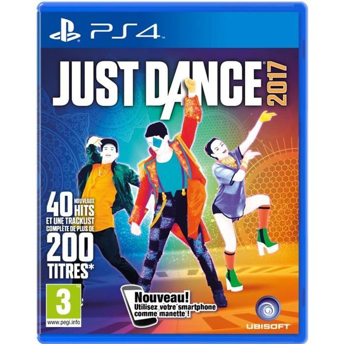 just dance 2017 jeu ps4 achat vente jeu ps4 just dance 2017 jeu ps4 cdiscount. Black Bedroom Furniture Sets. Home Design Ideas
