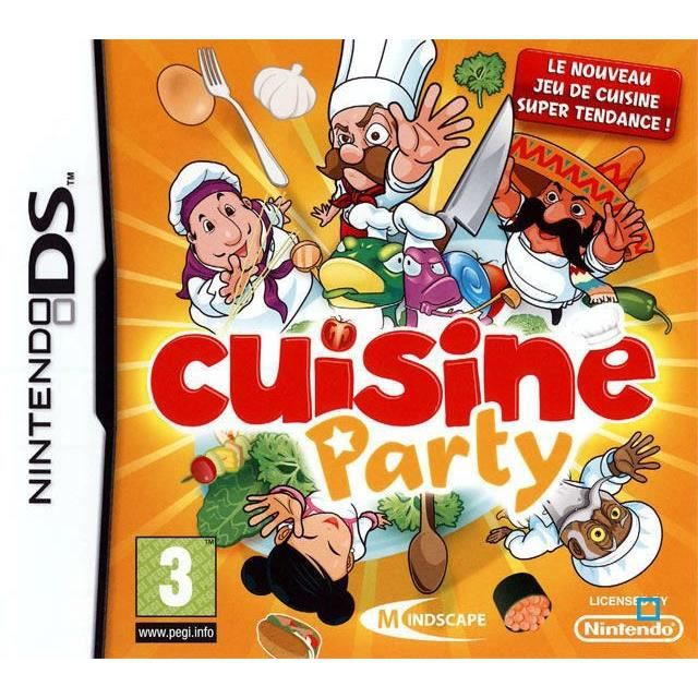 cuisine party jeu console nintendo ds achat vente jeu ds dsi cuisine party cdiscount. Black Bedroom Furniture Sets. Home Design Ideas