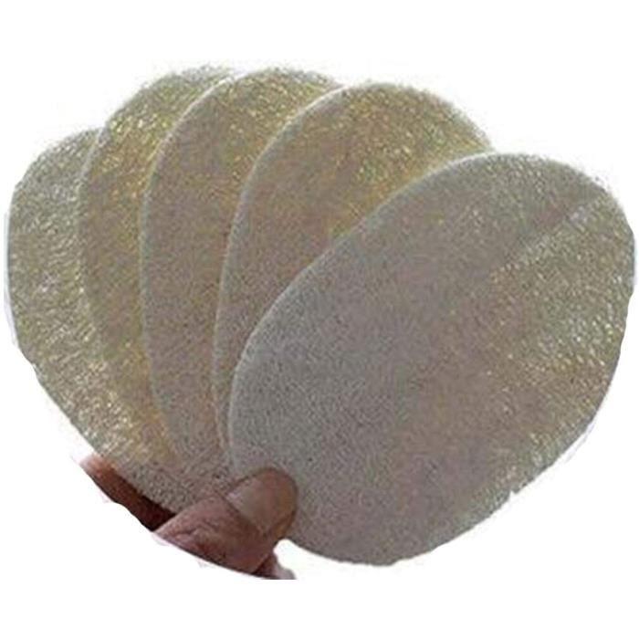 5 éponges à Vaisselle Naturelles, éponge Loofah, Récureur Loofah, éponge En Cellulose, éponges à Vaisselle écologiques, éponge à370