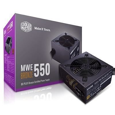 Cooler Master MWE Bronze 550W V2 - 80PLUS Bronze