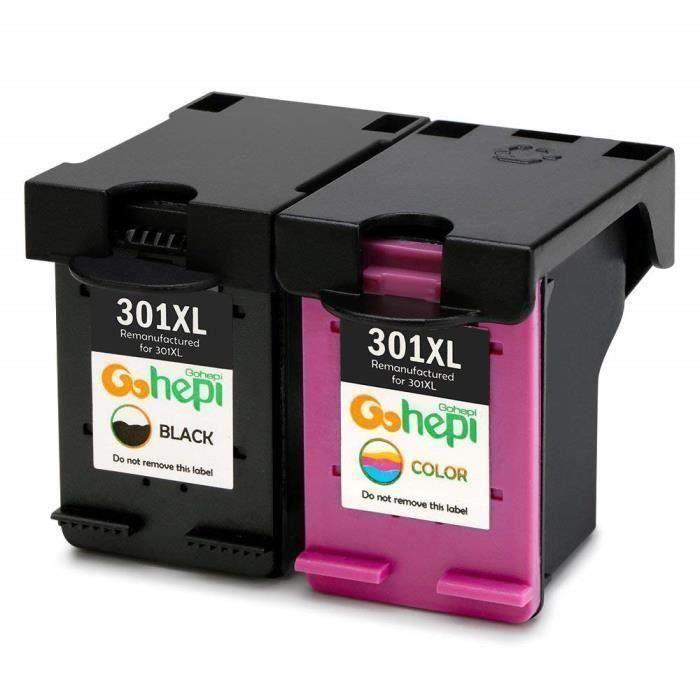 Cartouches HP ENVY 4502 - Compatible avec HP 301 XL Noir + Couleur