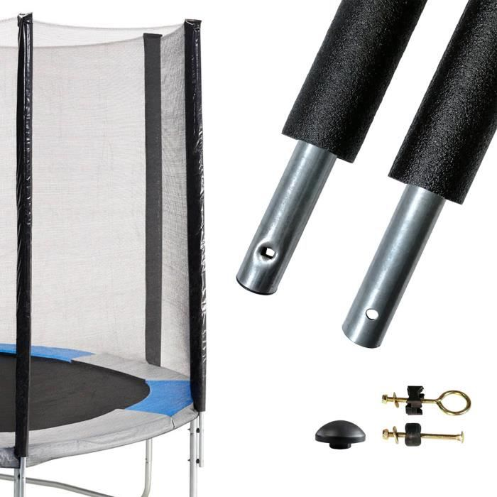 Un poteau de filet de sécurité Ø25mm pour trampolines Ralli - Kangui