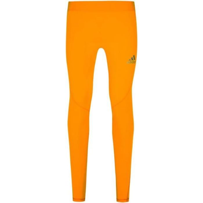 Collant orange homme Adidas Alphaskin