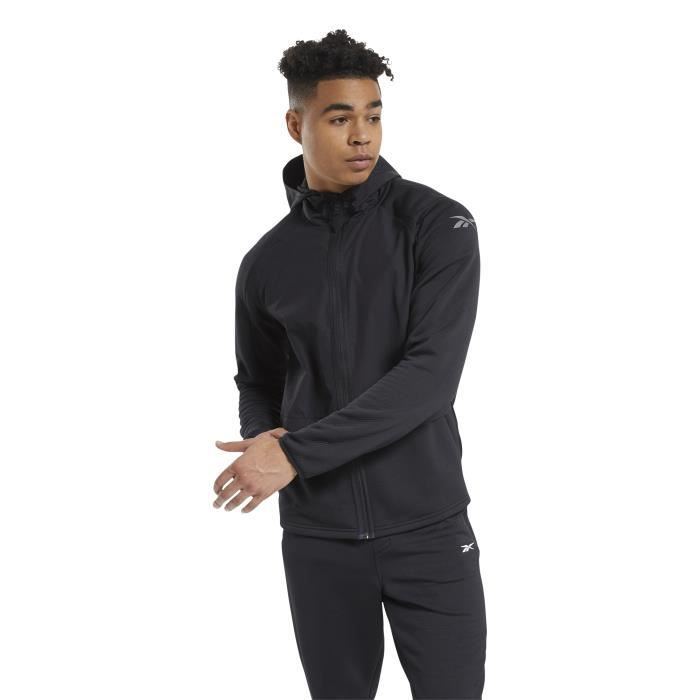 Sweat à capuche Reebok Speedwick Performance Full-Zip