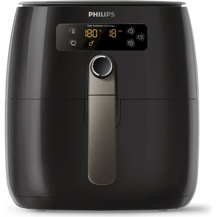 Philips Avance Collection HD9745-90, Hot air fryer, 0,8 kg, TurboStar, 1 h, 4 personne(s), 60 min