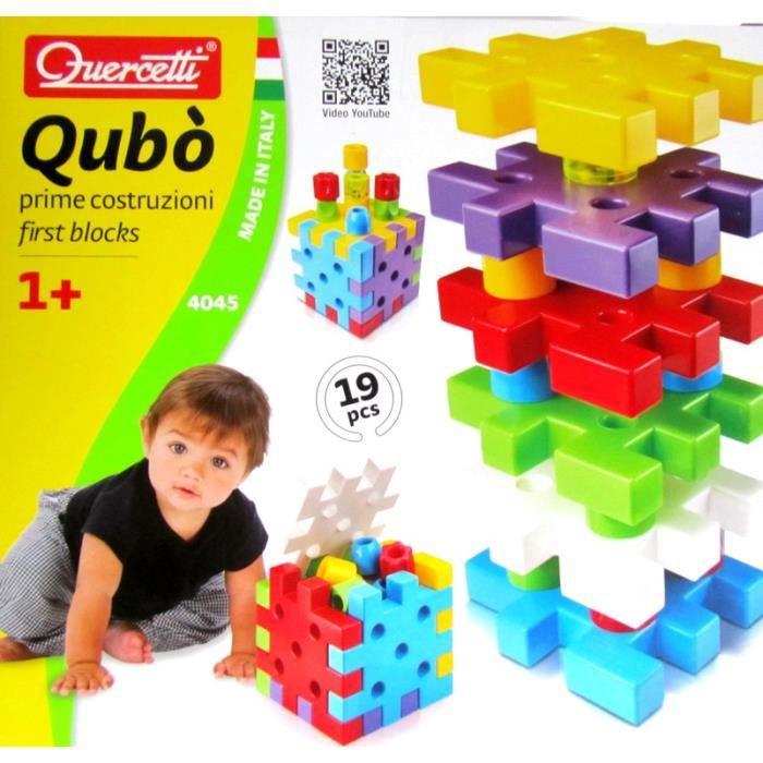 Jeu de construction blocs Qubo Quercetti