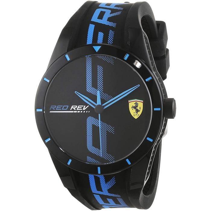 Scuderia Ferrari Hommes Analogique Quartz Montres bracelet avec bracelet en Silicone - 830616 4829