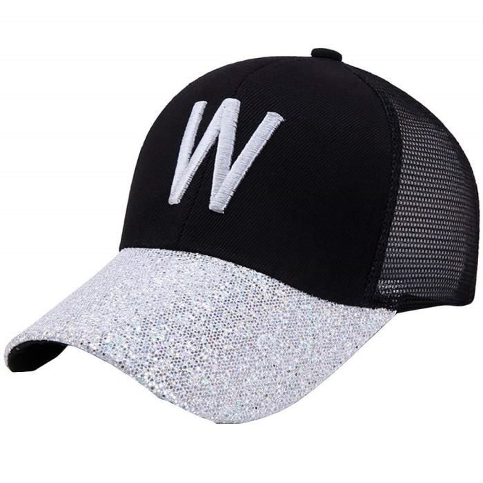 Casquette de Baseball Homme Femme Casquette Coton Gaze Respirant Hip-Hop Chapeau de Soleil Street Dance Hat Unisexe Reglable