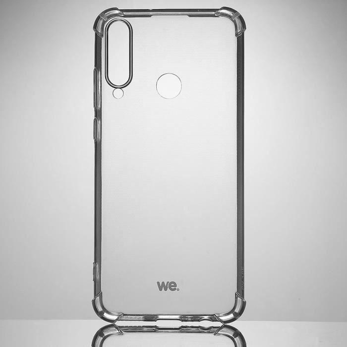 WE Coque de protection transparente pour HUAWEI Y6P Fabriqué en TPU. Ultra résistant Apparence du téléphone conservée. Transparent