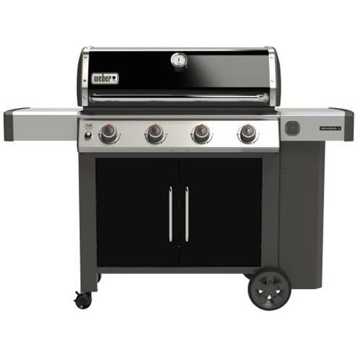 WEBER Barbecue à gaz Genesis II E-415 GBS - Noir