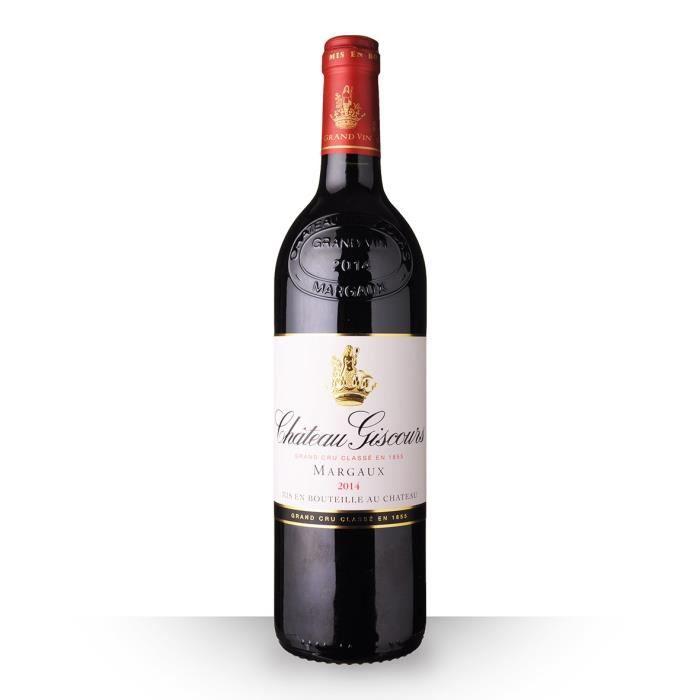 VIN ROUGE Château Giscours 2014 Rouge 75cl AOC Margaux - Vin