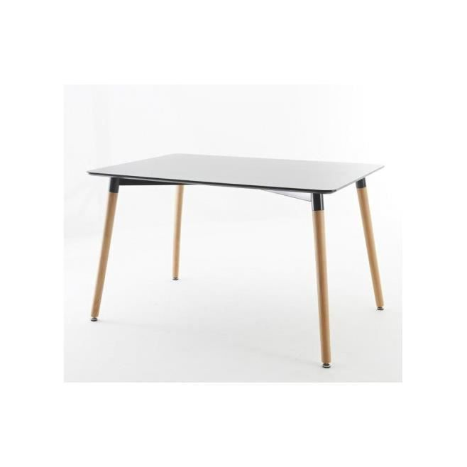 Table manger scandinave noire achat vente chaise for Table a manger soldes