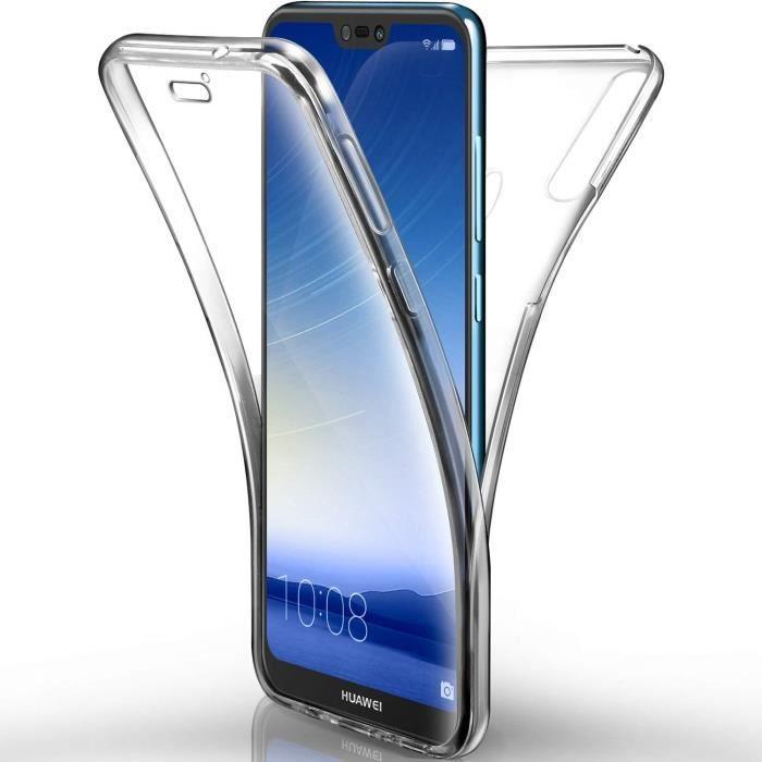 Coque Huawei P20 Pro Etui, Transparent Silicone Ge